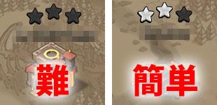 ☆をとるのが難しいけど☆がとられていない村と、☆3いけそうだけど☆が2個とられている村ならどちらを攻撃しますか?